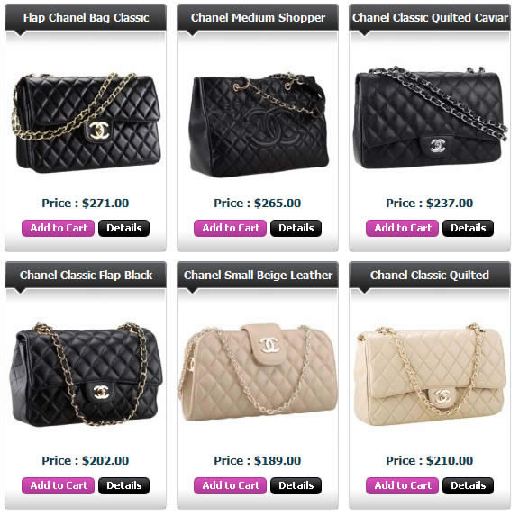 Replica Chanel Bags online